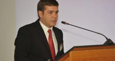 Martin Moise, PATRES, Speaker la Workshop-ul dedicatA� E-SRE, organizat de EUFORES E�i Comisiile parlamentare de specialitate