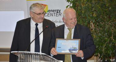 Gala Energy-Center: Dl Prof. Univ. Dr. Viorel Lefter, Președinte PATRES, a primit premiul pentru excelență pentru profesionalismul cu care susține rolul energiei regenerabile în mixul energetic românesc